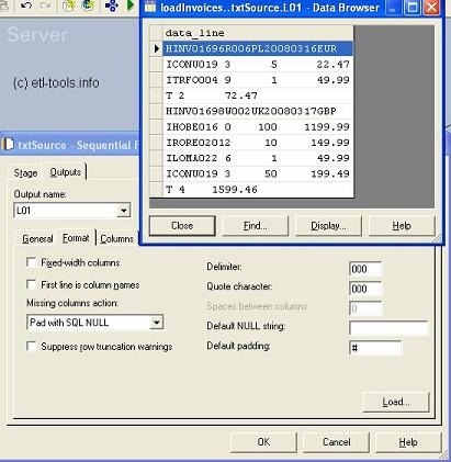 Header and trailer input textfile in Datastage